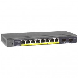 Netgear Smart Switch  8-Port, Desktop, PoE, SFP_3150