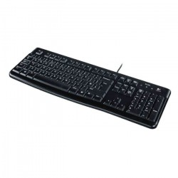 Logitech Corded Tastatur K120 black_3237