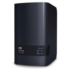 WD NAS Server, My Cloud EX2 Ultra, 2x 4TB, 1GB_3640