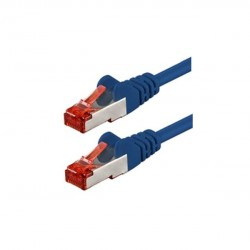 Patchkabel CAT6,  1m, RJ45, blau_3669