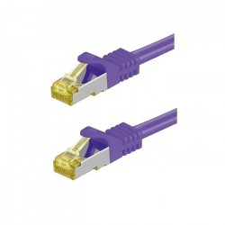 Patchkabel CAT7,  5m, RJ45, violett_4026