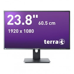 "TERRA-LCD 2456W PIVOT, 23.8"", DVI, HDMI, DP, ADS_4300"