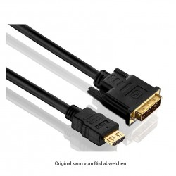 DVI-D M / HDMI AM Adapterkabel, 1m_4668