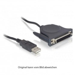 USB 2.0 AM / Parallel DB25 Adapterkabel_4702