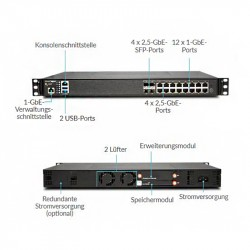 SonicWALL NSA 2650 Security-Box, TS (AGSS), 1Y_5396
