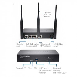 SonicWALL TZ 350 Security-Box, TS (AGSS), 1Y_5408