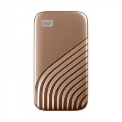 WD SSD My Passport, USB-C 3.2, 500GB, Extern, gold_5634