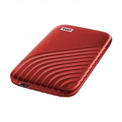 WD SSD My Passport, USB-C 3.2, 1TB, Extern, rot_5872