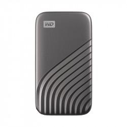 SSD My Passport, USB-C 3.2, 2TB, Extern, silber_5874
