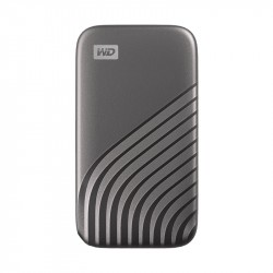 WD SSD My Passport, USB-C 3.2, 2TB, Extern, silber_5874