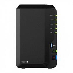 Synology NAS Server, DS220+, 2x 4TB, 2GB (VOS)_5946