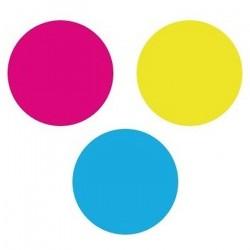 Tinte für HP DJ T125, (HP 711) 3er Pack color_6037